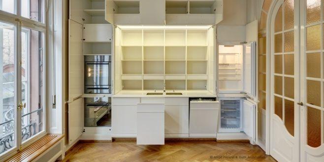 Bild einer individuellen Küche der Schreinerei Schweighauser
